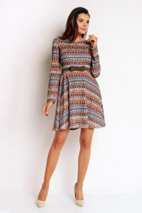 Boho Memorable Classy Cheek Flare Dress