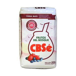 Yerba mate CBSe Frutos Del Bosque 500g