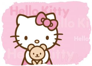 Hello Kitty 003 - poduszka