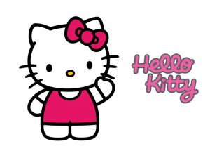 Hello Kitty 004 - poduszka