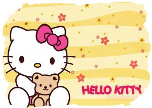 Hello Kitty 014 - poduszka