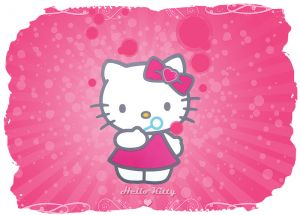 Hello Kitty 015 - poduszka
