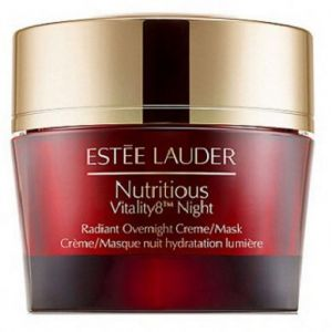 Estee Lauder Nutritions Vitality 8 Radiant Night Overnight Creme/Mask (W) krem-maska do twarzy na no